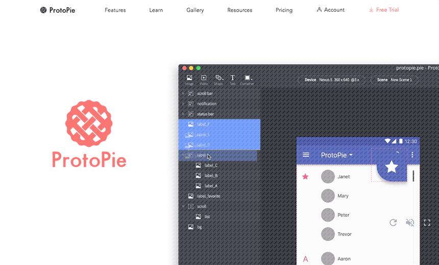 UIUX「Mobile Prototyping Meetup Tokyo」でProtoPieに触れる。